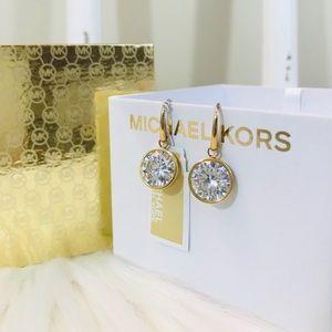 MK Stone Drop Earrings